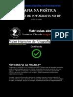 Curso de Fotografia em Brasília DF