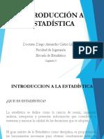 Capítulo I. Introduccion a la Estadistica