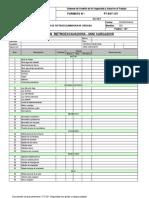 Formato de Inspección Retroexcavadora y Mini Cargador (1)