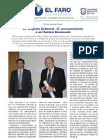 Honoris causa a Raúl Zaffaroni en la Universidad Nacional de San Luis