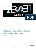 #31c3 A New Dawn (Alec Empire) - Full text, incl.... — ATARI TEENAGE RIOT