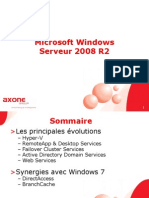 Presentation Windows 2008 Serveur
