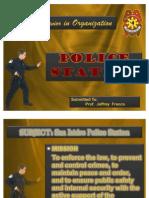 Human Behavior in Organization - Police Station
