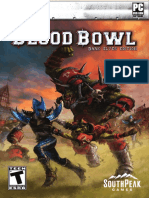Blood Bowl - Dark Elves Edition Manual