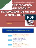 formulación perfil inversión pública