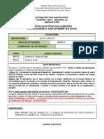 COHORTE II-2014-SECCIONES DYE