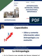 1. Antropología, definición, origen, importancia