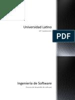 Ingeniería de Software cuestionario y Entrevista