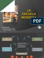 DIAPOS DE LA ESCUELA MODERNA