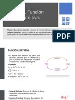 5.11 Función Primitiva.