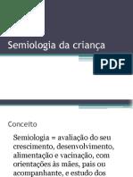 02 AULA 02- Semiologia da criança
