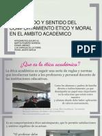 ETICA Y MORAL ACAMDEMICO