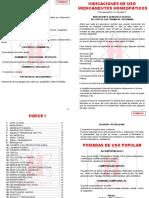 Lista de Formulas y Pomadas