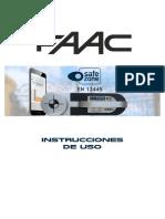 Istruzioni_safe_zone_faac_esp