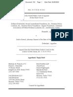 Defense Distributed v Grewal Appellants' Reply Brief