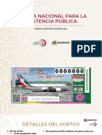 CPM Lotenal Gran Sorteo Avión Presidencial, 07feb20