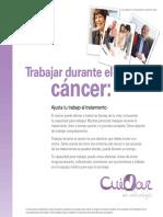 Trabajar durante el cáncer