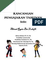 RANCANGAN PENGAJARAN TAHUNAN 2020.pptx