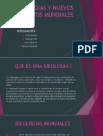 IDEOLOGIAS Y NUEVOS CONFLICTOS