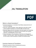 LITERAL-TRANSLATION