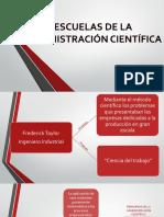 ESCUELAS DE LA ADMINISTRACIÓN CIENTÍFICA.pptx