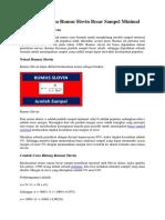 Cara Perhitungan Rumus Slovin Besar Sampel Minimal.docx