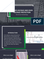 Under voltage and over voltage protection