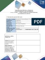 Anexo 1. Fase 1 - Cuadro Análisis de artículo referente  a la industria de cárnicos.