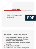 Ricardian Land Rent Model-PPT