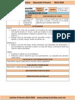 Enero - 1er Grado Educación Socioemocional (2019-2020)