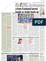 Time to Assess 3G - A Dose of IT - 8 Nov 2010 - Page 17 of Deccan Chronicle - Kapil Khandelwal - EquNev Capital