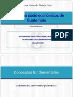 Garcia E. (2012) Concepto de Desarrollo