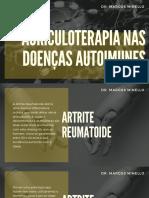 Auriculoterapia nas doenças autoimunes - Dr. Marcos Minello