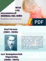 La importancia del juego en el desarrollo normal del niño