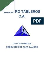 Catalogo de Electro Tableros(2)
