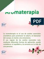 Capacitaciòn Aromaterapia