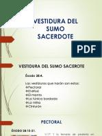 VESTIDURA DEL SUMO SACERDOTE