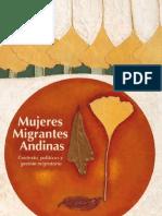 Mujeres Migrantes Andinas Contexto Políticas y Gestión Migratoria