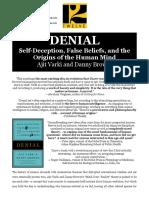 DENIAL Press Release