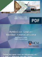 3_Harder Translation in Symbolic Logic