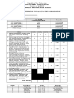 CLASSROOM OBSERVATION TOOL (COT) RATING CONSOLIDATION