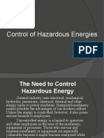 Control of Hazardous Energies 2010