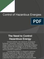 Control of Hazardous Energies 2010