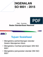 Sosialisasi ISI SNI_ISO_9001