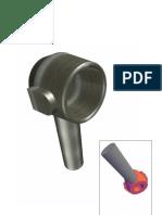 joelho de direção 3D