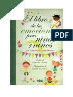 El Libro de Las Emociones Para Niñas y Niños. Los Cuentos Del Hada Menta. Gemma Lienas