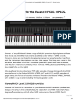 GM2 sound list for the Roland HP603, HP605, LX7 and LX17 __ Sinclair Design