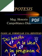 HIPOTESIS de Inv