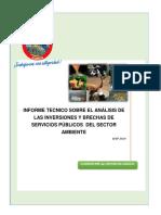 INFORME TECNICO- SECTOR AMBIENTE