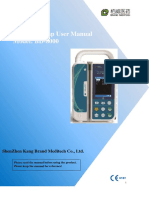 Operation Manual of BD-8000 infusionpump